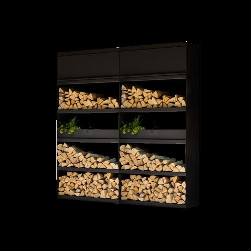 Wood Storage 200 black