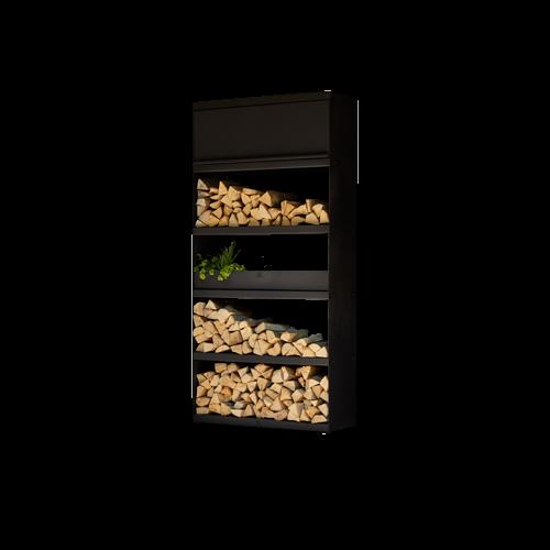 Wood Storage 100 black