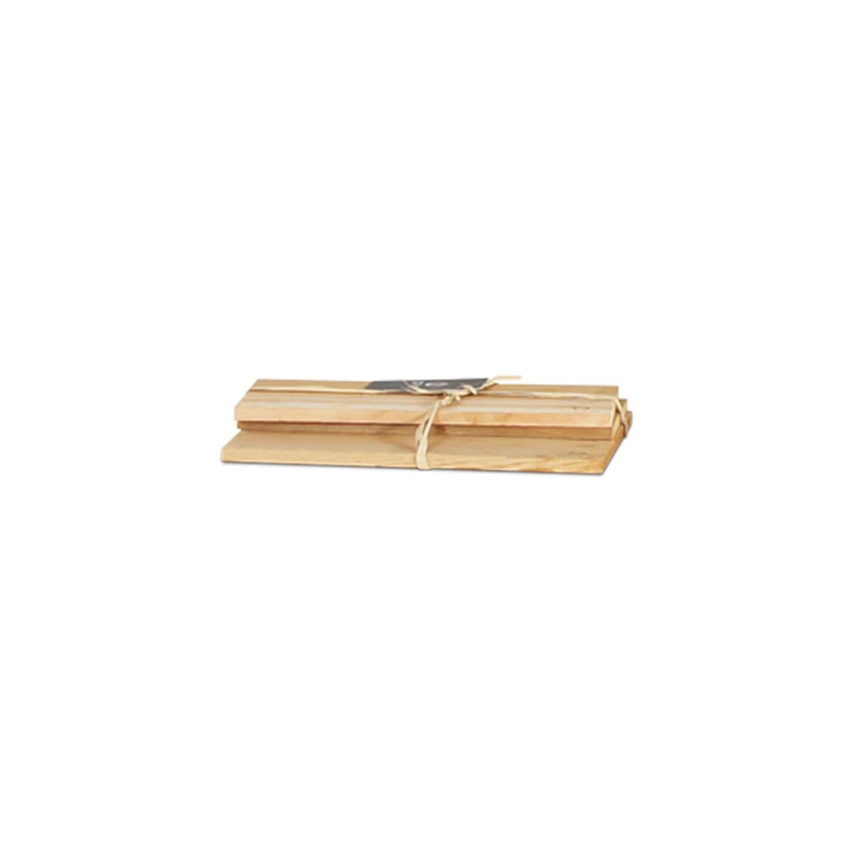 Holzplanken aus Zederholz